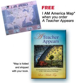 I AM America Map and A Teacher Appears