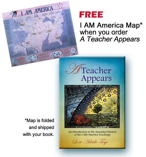 I AM America Map and A Teacher Appears I AM America Publishing Store