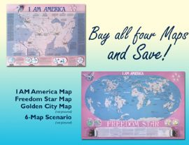 I AM America Map Bundle
